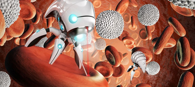 Nanorobots wade through blood to deliver drugs