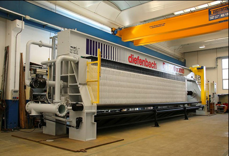 Filcon now Distributors for Diefebach Filter Presses