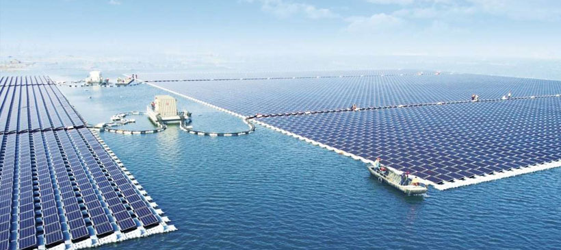 China Is Now Home to the World's Largest Floating Solar Power Plant
